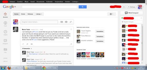 Wajah Baru Google Plus